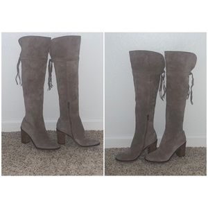 Franco Sarto Boots - Suede - Size 9 - Gently Used